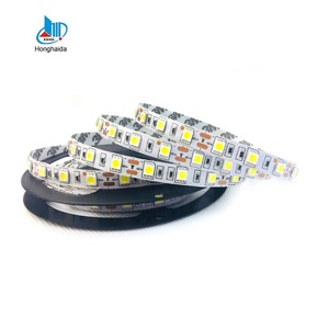 12v 6500k white 60leds/m led light strips 5050