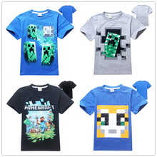 4 14Y Summer New Cartoon Children T Shirts Boys Kids T Shirt Designs Teen Clothing For