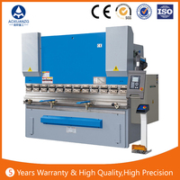 china high quality hydraulic press brake machine process metal sheet bending machine