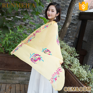 Hand Made Fashionable Scarf Fashion Hand Scarf Shawl Handmade