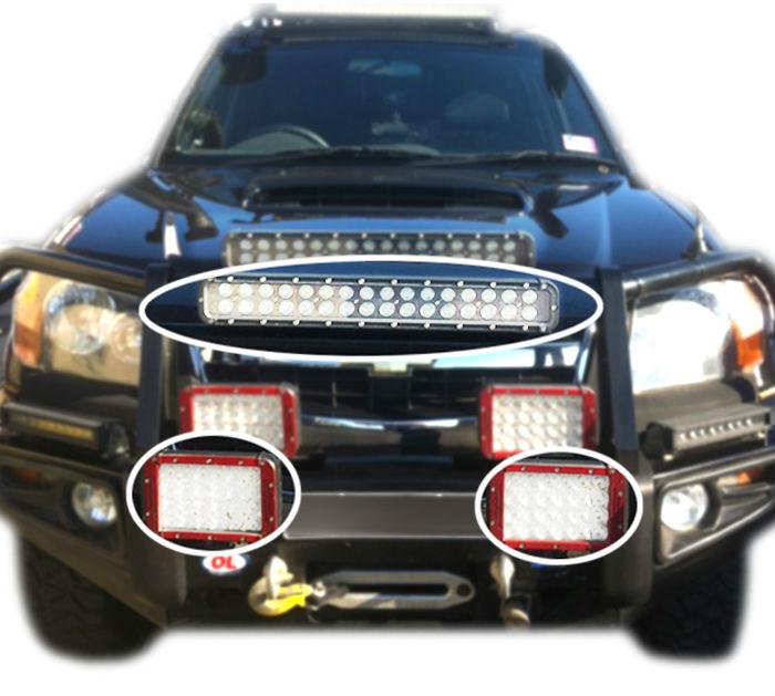 Quad Row 800w 56000 Lumen 50 Inch Led Light Bar /50 Inch Led Light ...