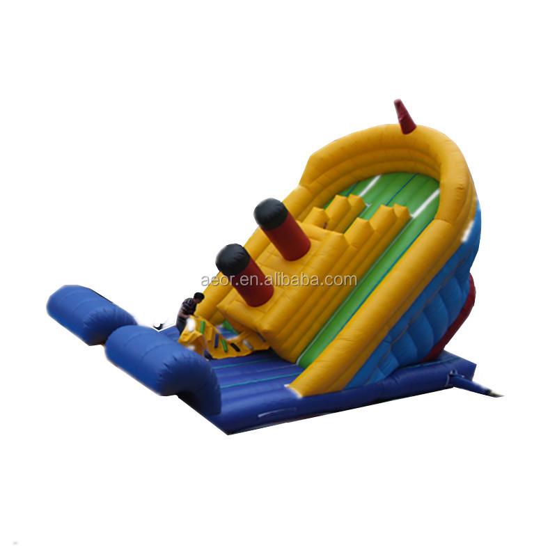 21f4fdb91 Comercial titanic tobogán inflable juegos inflables tobogan para adultos y  niños