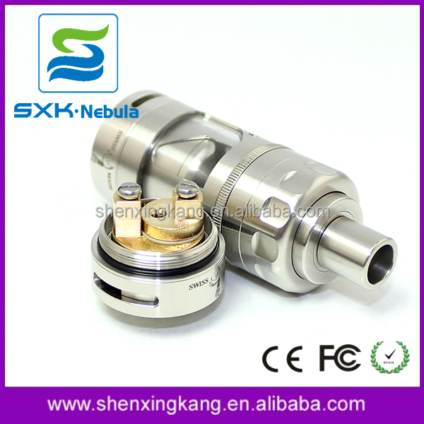 China e-cigarette supplier 1:1 clone sxk Hurricane V2 rta atomizer firebird e phoenix