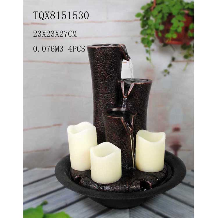 Decoration water fountain home small fountain for sale