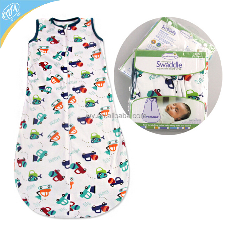 baby sleeping bags/cute baby's sleeping bag/cotton animal spring baby sleeping bag