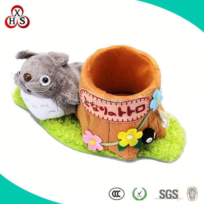 Fancy Soft Plush Cute Table Pen Holder