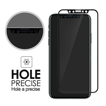 2017 new products tempered glass protective film 9H 0.33mm mobile phone Japan AGC glass for iphone 8