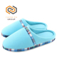Indoor House Shoes Plaid Cotton Warm Winter Slippers