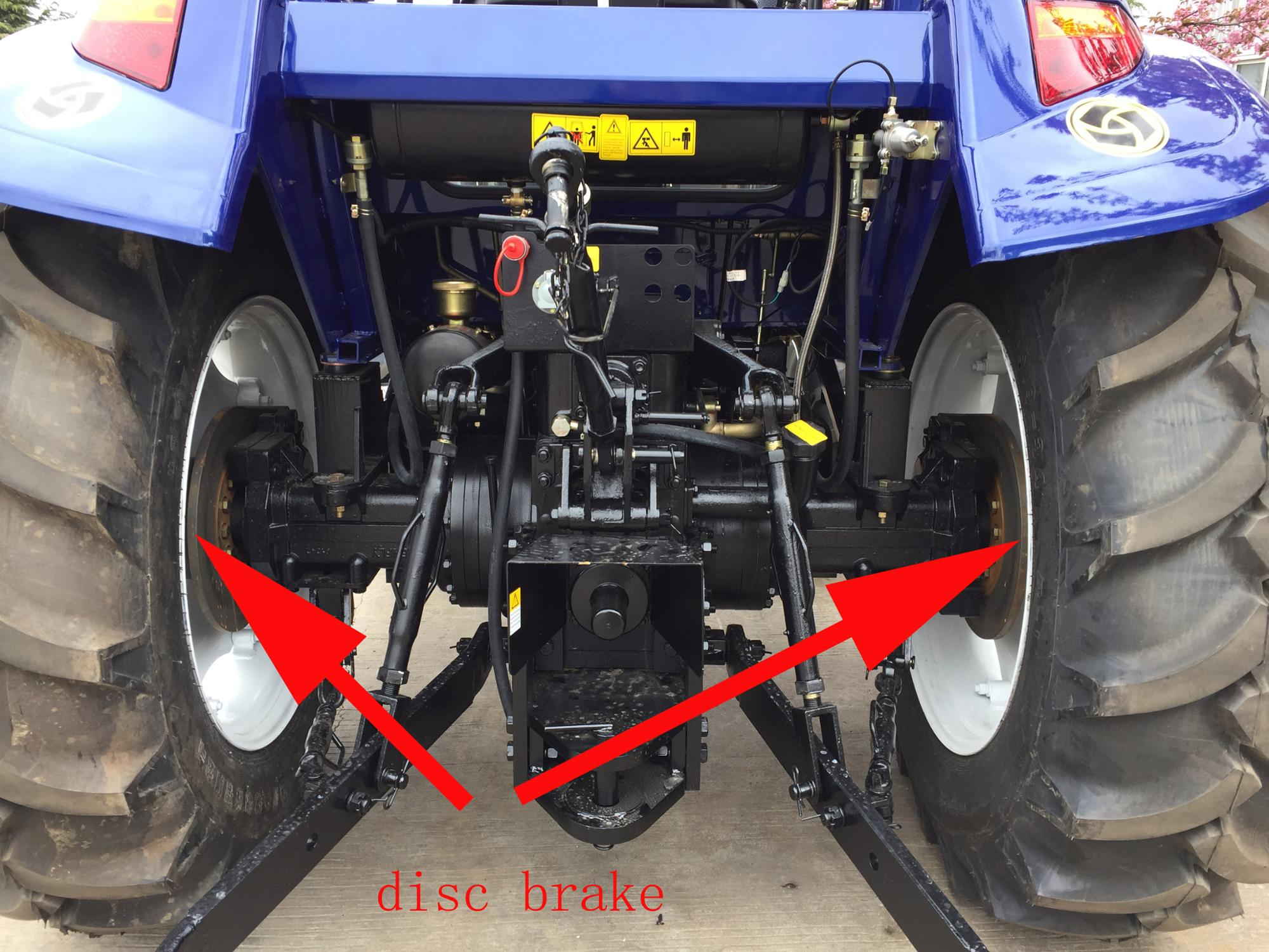 Chinese big tractor 100hp with disc brake for mountain terrain