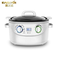2019 New hot sale LCD display rice digital slow 8 in 1 electric multi cooker for sale