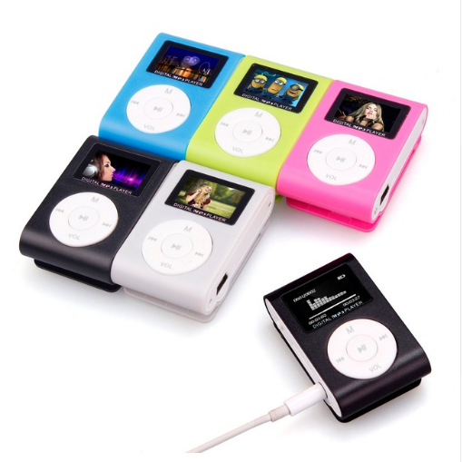 Binmer 2018 <strong>MP3</strong> Player USB Clip Mini LCD Screen Support 32GB Micro SD TF Card