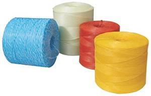 Tytan International PBT20110TRWMCT 20,000 ft. Baler Twine, Red with White - Pack - 2