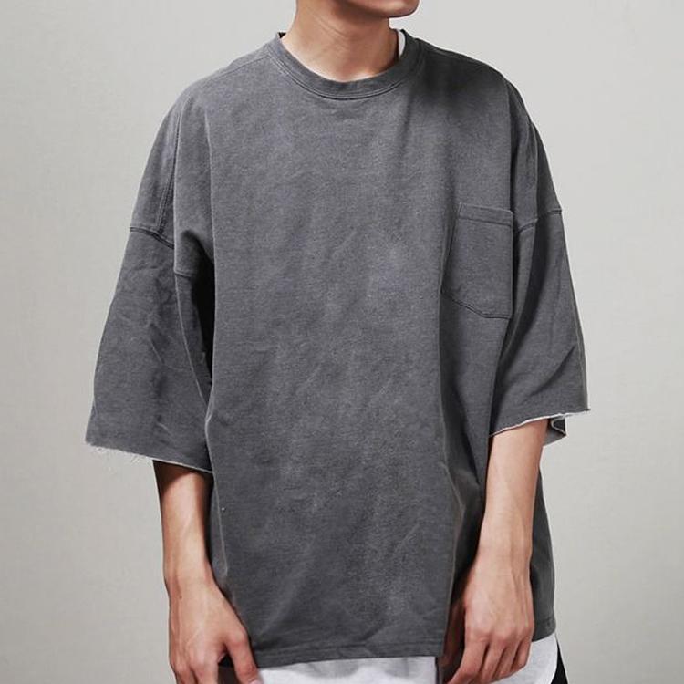 Custom Drop Shoulder Tee Oversized Men Blank T Shirt - Buy Drop ... 3a3dd7f9a
