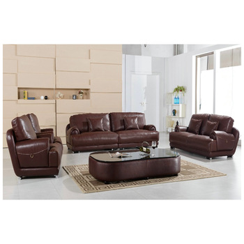 100% First Layout Cow Leather L-shape Brown High Quality Sofa - Buy High  Quality Sofa,Home Furniture,Living Room Furniture Product on Alibaba.com