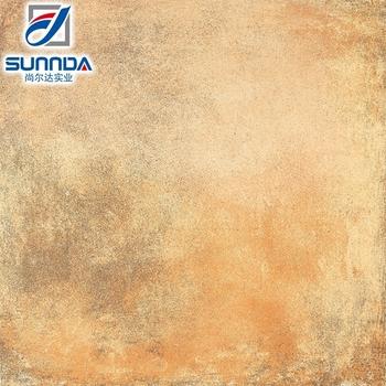 Sunnda Bright Color Fantastic Porcelain Oil Paint Rust Colored Floor Tile Orange Painting