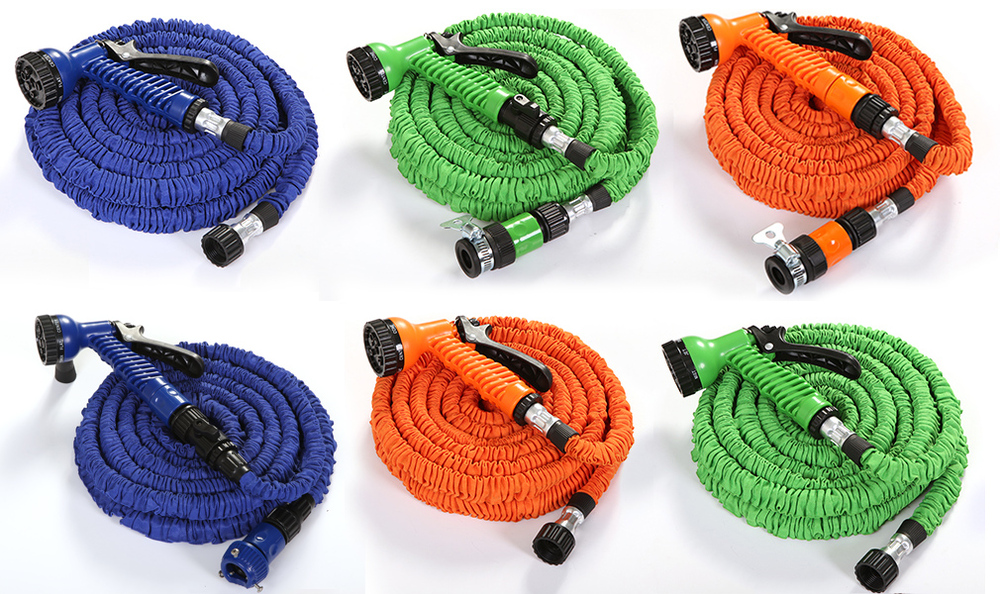 New Garden Hose 3 Times Expanding Full Size Kink Free As Seen On Tv