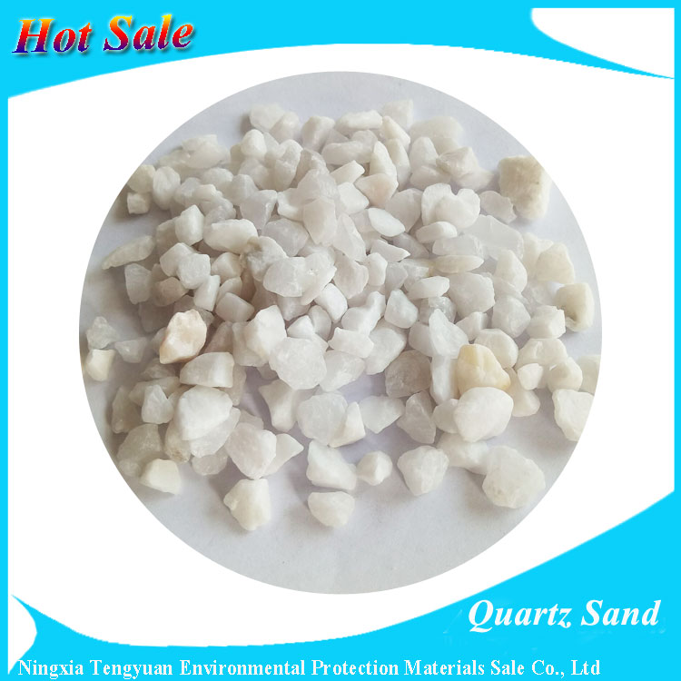Factory Supply Quartz Silica Sand from China manufacturer