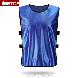 2017 Custom Design Printed Reversible Soccer Training Bibs Soccer Pinnies Soccer Mesh Bibs