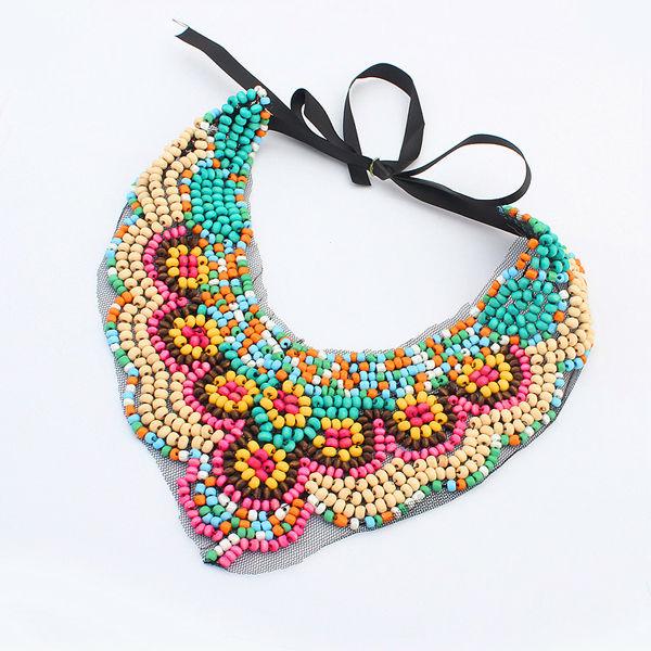 7b31acc15dd6e Roman Costume Jewelry 2014 Pendant Fake Collar Colorful Jewelry Fashion  Seed Beads Necklaces Pn1366 - Buy Fashion Seed Beads Necklaces,Colorful ...