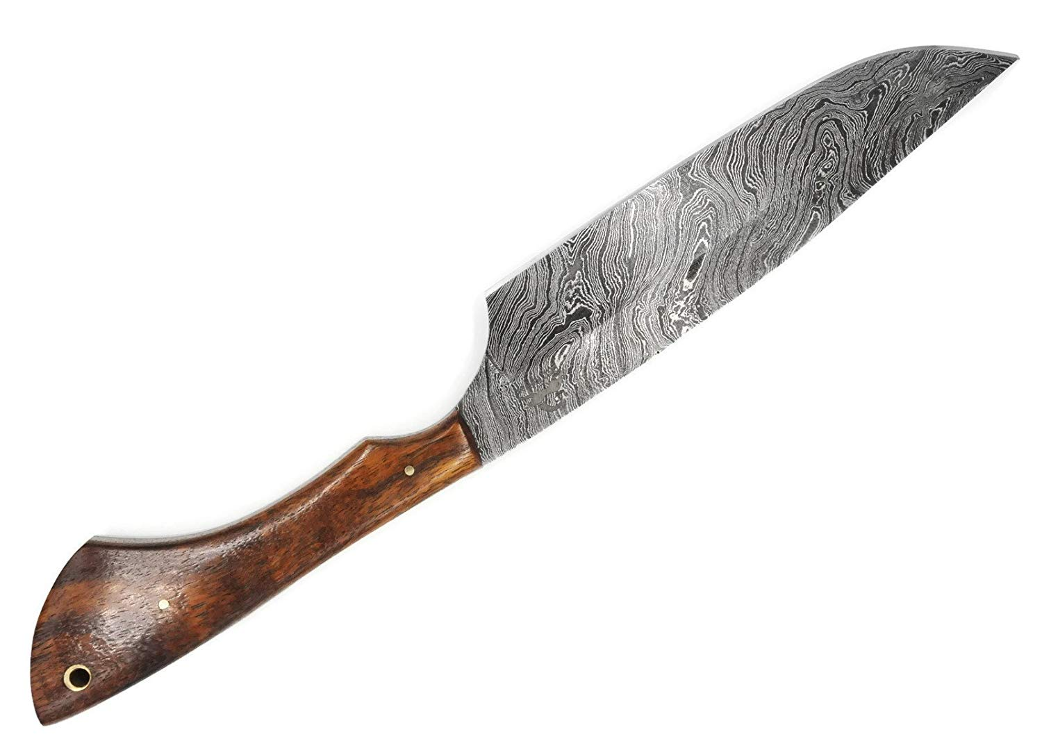 "DKC Knives DKC-1005 BERKELEY CHEF Knife Damascus Steel Blade 8"" Blade 13"" Overall 8 oz ND-Series"