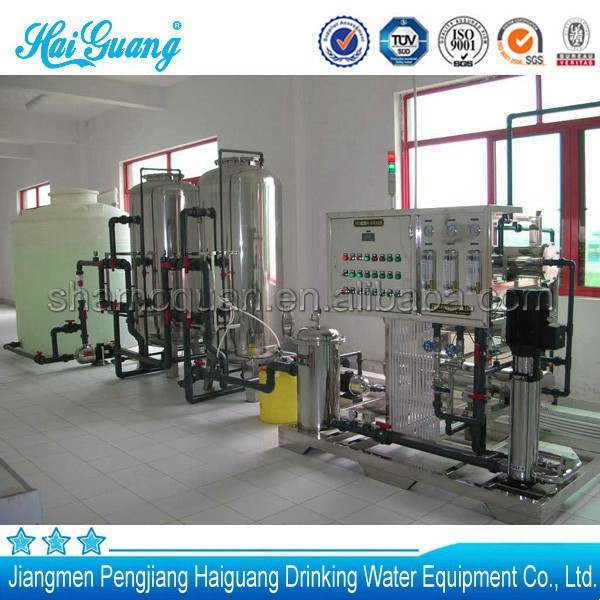 Excellent quality automatic mobile water treatment factory