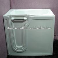 Soaker walk in bath tub fiberglass bathtub portable tub CWS2651