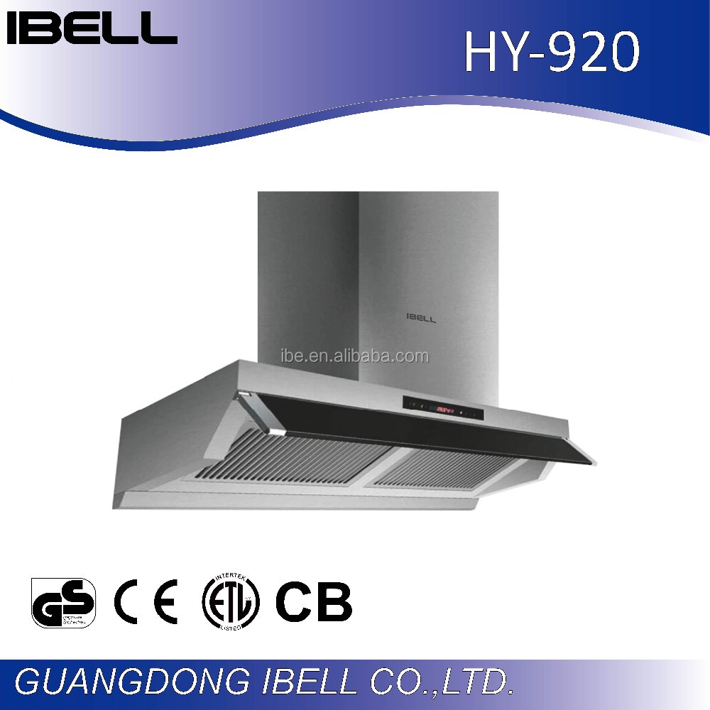 China supplier stainless steel Restaurant Kitchen Chimney Exhaust Hood/Stainless Steel Kitchen Range Hood