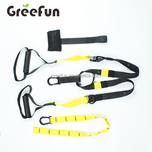 Home Use Door Gym Suspension Trainer Fitness Straps Kit Straps Gym For for  Gym Workout Complete Full Body Workouts Kit for Home