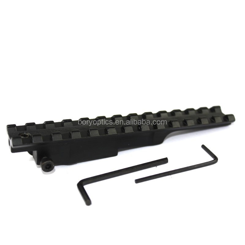 Hunting Tactical Ma 98 K98 Turkish VZ 24 GEW98 Yugo 24/47 Scout Weave Picatinny Rail 13 Slot Rifle Scope Mount