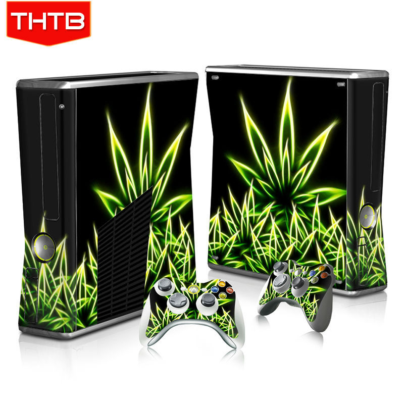 for xbox360 slim stickers skin for xbox 360 slim