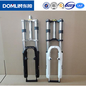 Wholesale low price high quality alloy fixed gear double crown bicycle fork