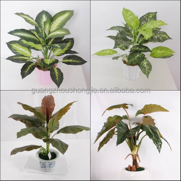 sjh010631 shengjie artificial plants indoor plants with red flowers