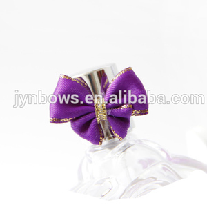 small satin ribbon flowers making,Satin ribbon with gold edge made bow