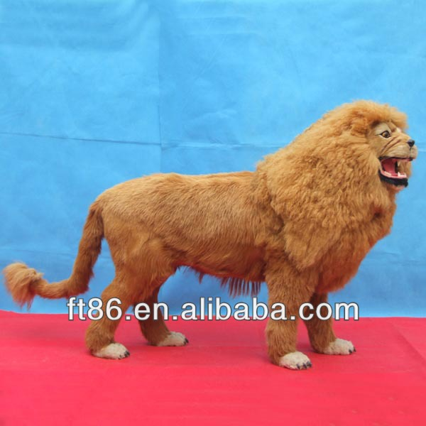 Fur Animal fashion wild hot new products realistic real lion