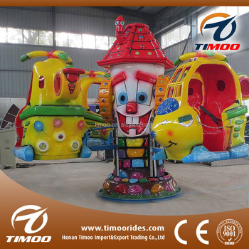 Backyard Amusement Rides Luxury Scarecrow Coin Operated Kiddie Rides For  Sale