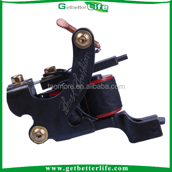 Getbetterlife Good Quality Ironl 10 Coils Shader Chinese Tattoo Machines