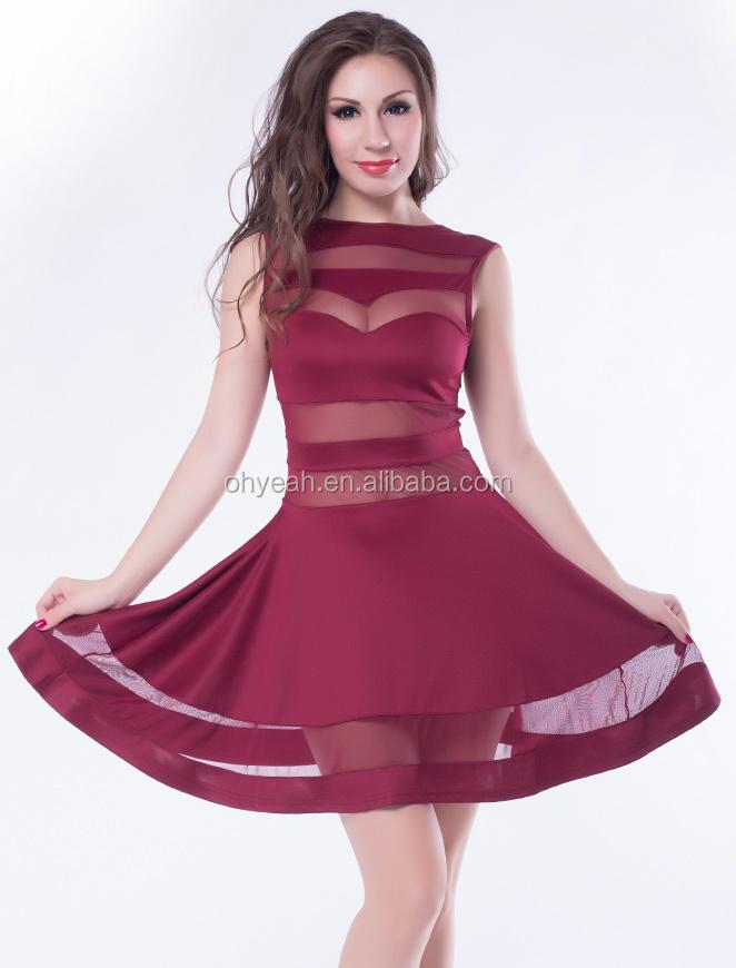Venta al por mayor vestidos de coctel mujer madura-Compre online los ...