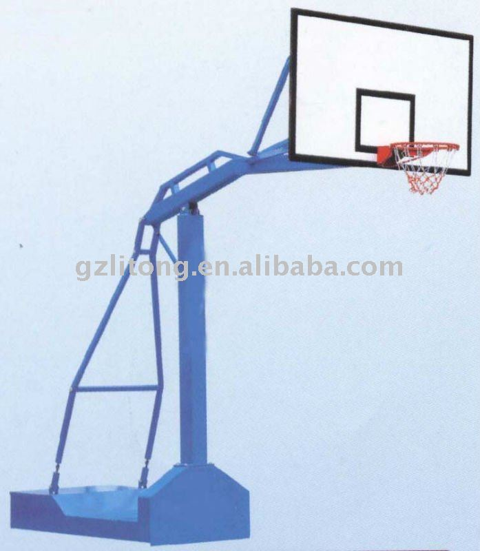 newest professional outdoor Movable Electro-hydraulic Basketball stand