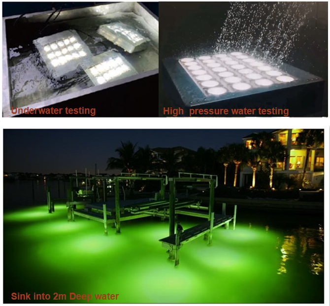 IP68 Waterdicht 500 Watt Zoeklicht 500 Watt Marine Light Zout Spray Proof 10 25 40 60 90 120 Graden