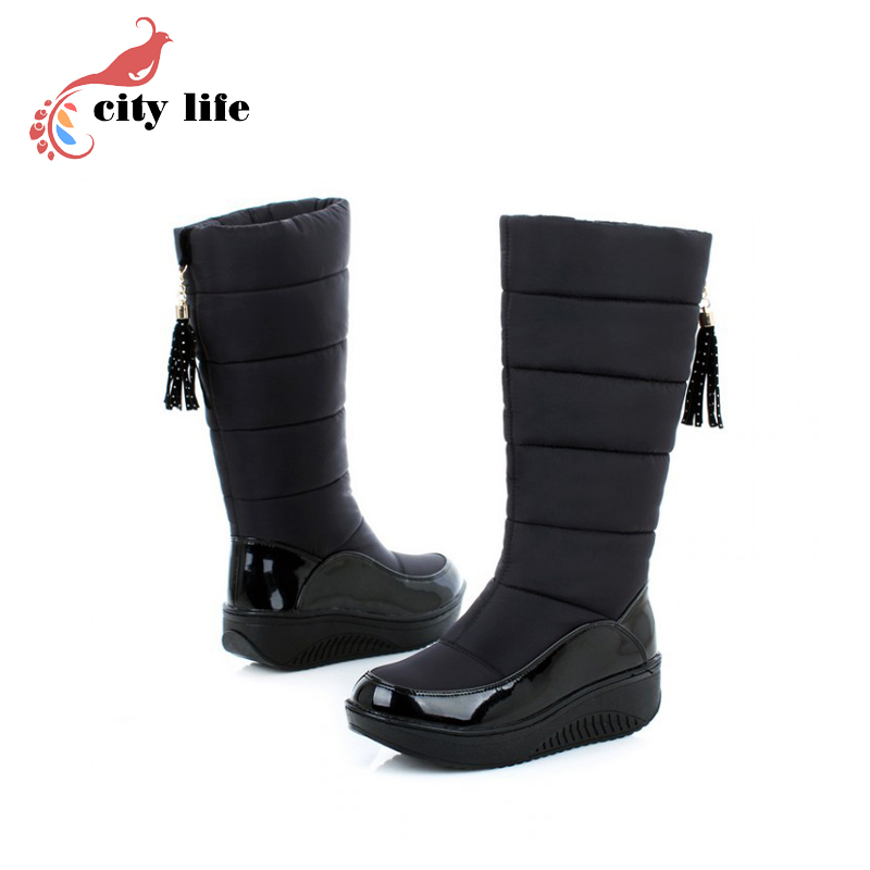 Aliexpress.com : Buy college Brand 2015 winter boots slope