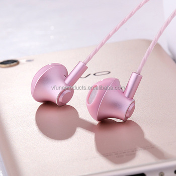 Quality Metal Earphone Handfree Headset Headphones Earphones for Mobile Phones