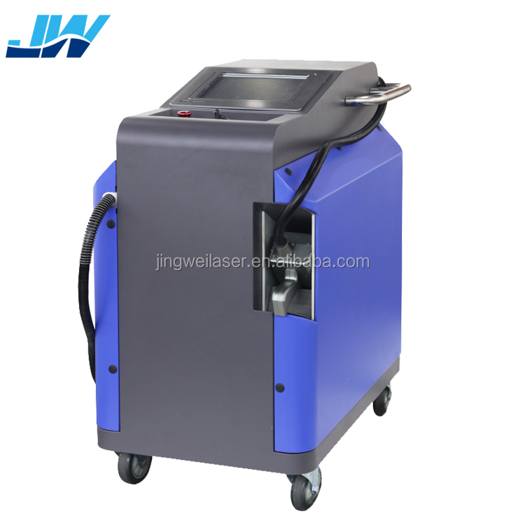 Jingwei 100W 200W Laser Rust Cleaning Removal Machine for metal Oxide