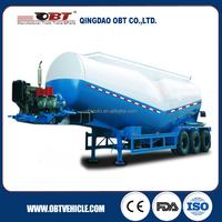 Full size tri axle 40m3 bulk Cement Tank Semi trailer for sale