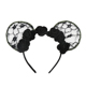 2018 Latest Apparel Accessory Women Teenage Girl Sexy Black Lace Anime Cat Ear Party Hairband Headband For Adults