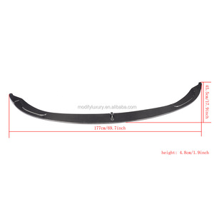 ML Style Carbon F82 M4 Front Lip Spoiler for BMW F80 M3