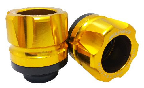 Honda Grom MSX125 Spyker Front Crash Bungs Sliders Gold