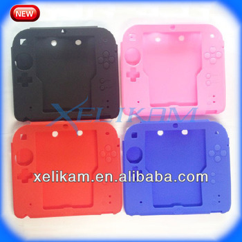 new concept e2175 73648 For Nintendo 2ds Case For 2ds Silicone Case Protector Cover For 2ds  Accessories - Buy For 2ds Case,For 2ds Case,For 2ds Case Product on  Alibaba.com