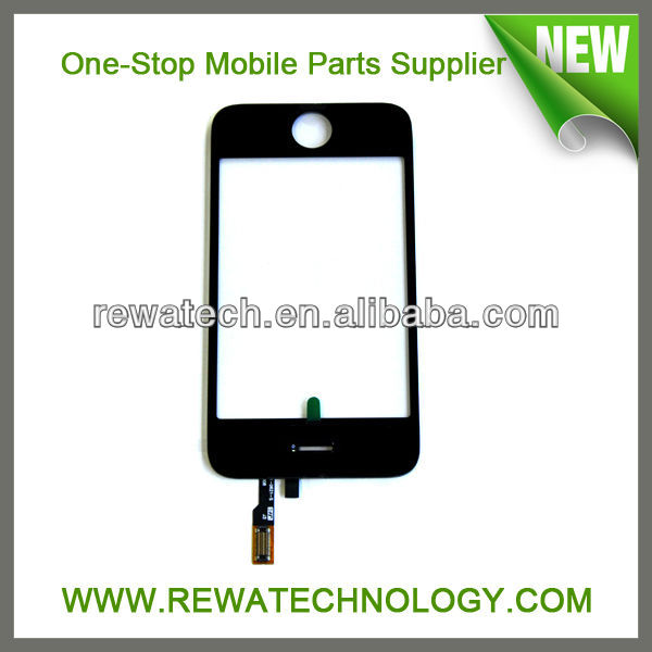 For Apple iPhone 3 3G Digitizer Touch Screen Black Replacement