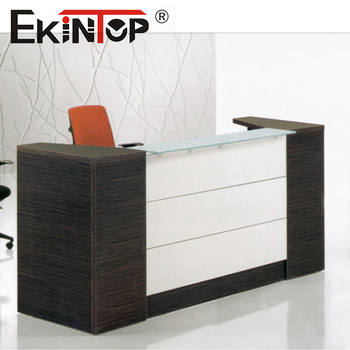 Commercial Furniture Office Desk Front Table And Chair Price