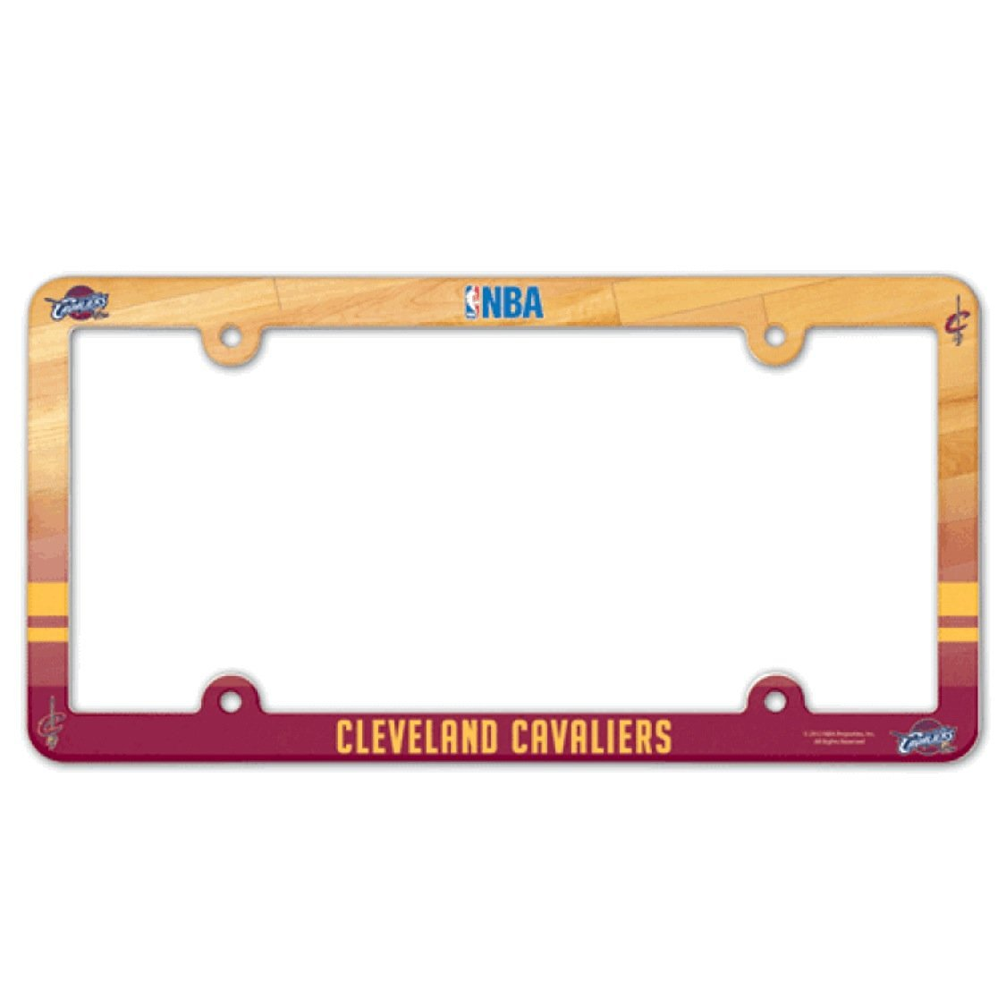 Cleveland Cavaliers License Plate Frame (NBA, 2-Pack)